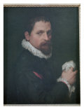 Self Portrait Giclee Print by Francesco De Rossi Salviati Cecchino