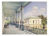 The Cameron Gallery in Tsarskoye Selo, 1859 Giclee Print by Luigi Premazzi