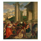 Adoration of the Kings Giclee Print by Paolo Veronese