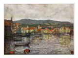 The Town of Molde, 1905 Giclee Print by Nico Jungman