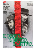 The Good, The Bad and The Ugly, Italian Movie Poster, 1966 Posters