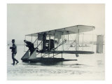 The Wright Brothers' B1 Aircraft Fitted with Pontoons for Sea Service with Us Navy, 1912 Giclee Print