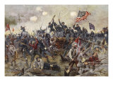 The Battle of Spotsylvania, May 8-21 1864 Giclee Print by Henry Alexander Ogden
