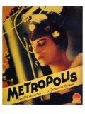 Metropolis, 1926 Premium Giclee Print
