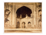 Outside the Taj Mahal, 1858 Giclee Print by John Murray