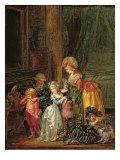 St. Nicholas's Day Giclee Print by Francois Louis Joseph Watteau