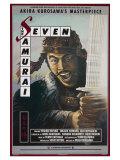 Seven Samurai, 1954 Poster