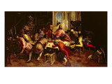The Last Supper Giclee Print by Jacopo Robusti Tintoretto
