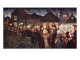 Religious Procession Ii, 1904 Giclee Print by Nico Jungman