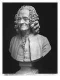 Bust of Voltaire Giclee Print by Jean-Antoine Houdon