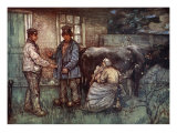 The Sale of a Cow, 1904 Giclee Print by Nico Jungman