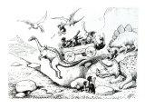 Prehistoric Peeps, 1894 Giclee Print by Edward Tennyson Reed