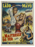 The Iron Mistress, Belgian Movie Poster, 1952 Prints