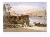 Assuan, 1871 Giclee Print by Carl Friedrich Heinrich Werner