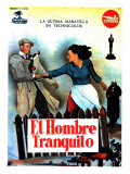The Quiet Man, Spanish Movie Poster, 1952 Giclee Print