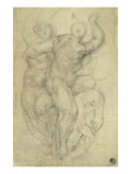 Study for a Group of Nudes Giclee Print by Jacopo da Carucci Pontormo