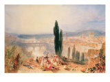 Florence from near San Miniato, 1828 Giclee Print by Joseph Mallord William Turner
