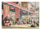 Crystal Palace, the Tunis and China Galleries Giclee Print by Joseph Nash