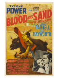 Blood and Sand, 1941 Giclée-tryk
