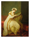 A Turkish Woman, 1773 Giclee Print by Angelica Kauffmann