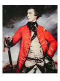 General John Burgoyne Reproduction procédé giclée par Sir Joshua Reynolds