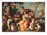 The Rape of Europa Giclee Print by Sebastiano Ricci