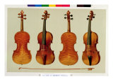 Violins Giclee Print by Alfred James Hipkins