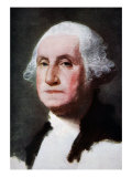 George Washington reproduced in 'The Outline of History: being a plain history of life and mankind' Giclee Print by Gilbert Stuart