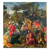 The Adoration of the Magi, 1496 Giclee Print by Filippino Lippi