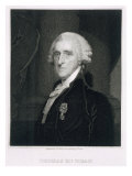Portrait of Thomas McKean, engraved by Thomas B. Welch Giclee Print by Gilbert Stuart