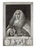 Honourable Mr Justice Blackstone, engraved by Hall Giclee Print by Thomas Gainsborough