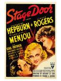 Stage Door, 1937 Posters