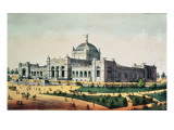 Art Gallery, Grand United States Centennial Exhibition, Fairmount Park, Philadelphia Giclee Print by  American School