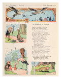 The Stork and the Fox, from the 'Fables' by Jean de la Fontaine Giclee Print by Benjamin Rabier