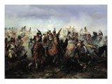 The Battle of La Fere-Champenoise, on the 25th March 1814, 1891 Giclee Print by Bogdan Willewalde