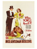 After the Thin Man, German Movie Poster, 1936 Art