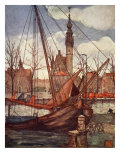 Veere, 1904 Giclee Print by Nico Jungman