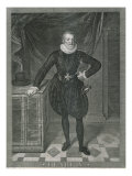 Portrait of Henry IV of France Giclee Print by Frans Pourbus II