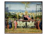 Triumph of Love, Inspired by 'Triumphs' by Petrarch Giclee Print by Jacopo Del Sellaio