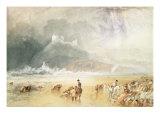 Criccieth Castle, 1835 Giclee Print by J. M. W. Turner