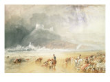 Criccieth Castle, 1835 Giclee Print by Joseph Mallord William Turner