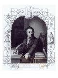 Gotthold Ephraim Lessing Giclee Print by Abraham Storck