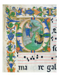 The Miraculous Draught of Fishes, from a Choir Book, Executed Before 1449 Giclee Print by Zanobi Di Benedetto Strozzi