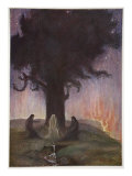 The Norns, 1906 Giclee Print by Hermann Hendrich