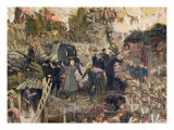 The Defense of Sebastopol, 1910 Reproduction procédé giclée par Dmitri Nikolayevich Kardovsky
