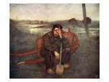 Tired Out, 1904 Giclee Print by Nico Jungman