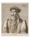 John Knox, from 'Effigies' by Jacobus Verheiden, 1602 Giclee Print by Hendrik I Hondius