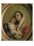 Madonna with Sleeping Child, 1780s Giclee Print by Giandomenico Tiepolo