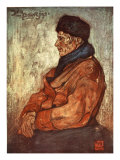 An Old Fisherman, 1904 Giclee Print by Nico Jungman
