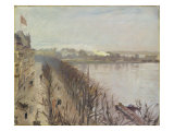 Binnenalster and Neuer Junfernstieg in Hamburg Giclee Print by Laurits Regner Tuxen